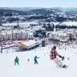 Stock Photo: Mont-Tremblant Ski Resort, Quebec, Canada