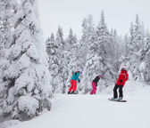 Mont-Tremblant Ski Resort, Quebec, Canada — Stock Photo