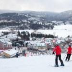 Постер, плакат: Mont Tremblant Ski Resort Quebec Canada