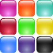 Colorful shiny glass buttons — Stock Vector #2697737