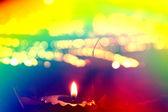 多彩排灯节 — 图库照片