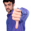 Stock Photo: Thumbs Down Sign