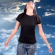 Blissful Freedom — Stock Photo #14039297