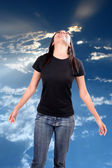 Blissful Freedom — Stock Photo