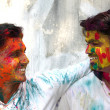 Stock Photo: Holi Fun