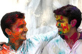 Holi Fun — Stock Photo