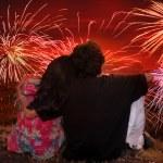 diwali romântico — Foto Stock