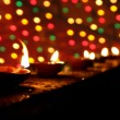 Diwali Lamps — Stock Photo #14223323