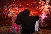 Romantyczny diwali — Zdjęcie stockowe