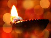 Lampe de diwali — Photo
