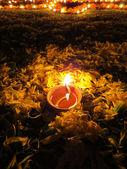 Lampe rituelle de diwali — Photo