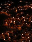 Luces de diwali — Foto de Stock