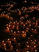 Lumières diwali — Photo