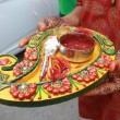Mehendi Ritual Items - Stock Photo