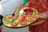 Mehendi Ritual Items — Stock Photo