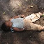 Homeless Child Sleeping — Stock Photo #21903021