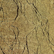 Royalty-Free Stock Photo: Cracked Golden Paper
