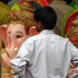 Ganesh Idol Shopping — Stock Photo