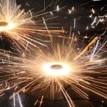 Diwali Fireworks — Stock Photo #7383569