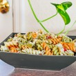 Macaroni Salad Side Dish - Stock Photo