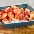 Stock Photo: Shrimp Creole Served on Rice