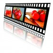 Film Strip of Tomatoes — Stock Photo #26396455