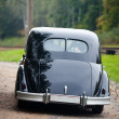 Stock Photo: Black vintage car