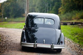 Black vintage car — Stockfoto