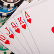 Royal flush — Stock Photo #13800616