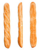 Baguette from three sides — Stock Photo