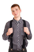 Portrait of a young man — Stock Photo