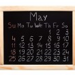 Calendar 2014. May — Stock Photo #31027709