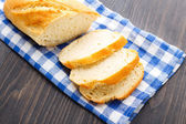 Fresh loaf of white bread — Stock Photo