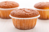 Tasty muffin cakes — Stock Photo