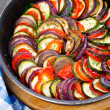 Постер, плакат: Ratatouille in a pan