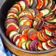 ������, ������: Ratatouille in a pan