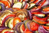 Ratatouille in a pan — Stock Photo