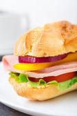Sanduíche de baguete — Foto Stock