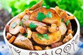 Spicchi di patate — Foto Stock