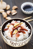 Seafood rice — Stock Photo