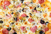 Closeup picture of pizza — Stock Photo