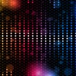 Colorful Rainbow Neon Party Background — Stockvectorbeeld