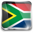 South Africa Flag Smartphone Application Square Buttons - Vettoriali Stock 