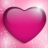 Fond de coeur pour le jour heureux mère — Vecteur