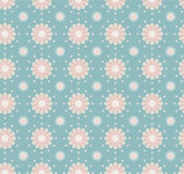 Seamless Flower Pattern Colorful Set — Stock Vector