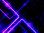 Blue Purple Lines Background Neon Laser — Stock Vector