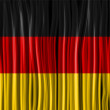 Germany Flag Wave Fabric Texture  — Stok Vektör