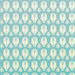 Seamless Pattern Retro Damask — Vettoriali Stock