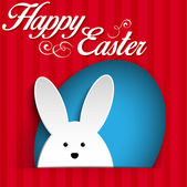 快乐复活节兔子兔子 — 图库矢量图片