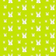 Easter Rabbit Bunny Seamless Background — Stock Vector